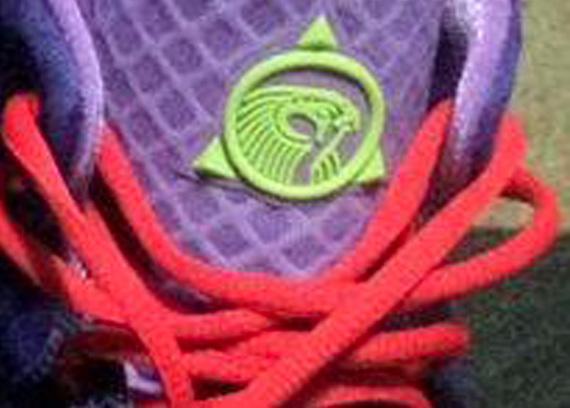 Nike Air Yeezy 2 Logo - Up Close