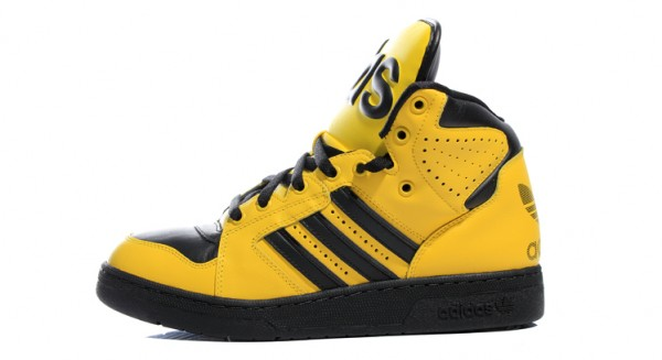adidas Originals by Jeremy Scott Instinct Hi 'Yellow' - Another Look