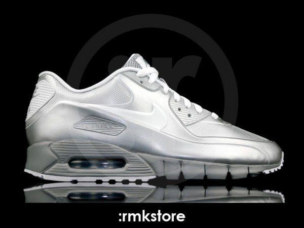 Nike Air Max 90 Current VT LSR 'Metallic Silver' - Another Look