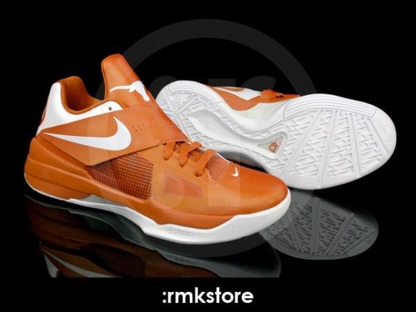 Nike Zoom KD IV 'Texas Longhorns' - More Looks