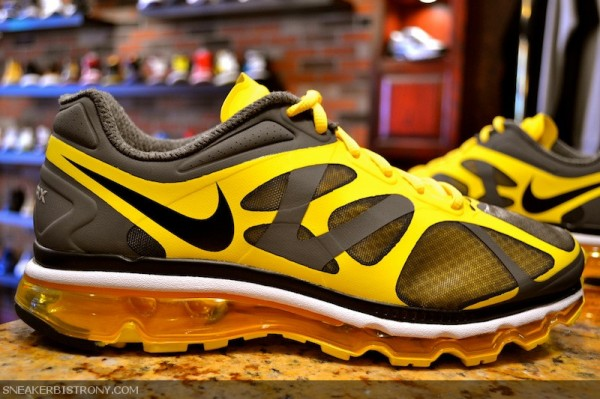 Nike Air Max+ 2012 'Dark Grey/Black-Chrome Yellow'