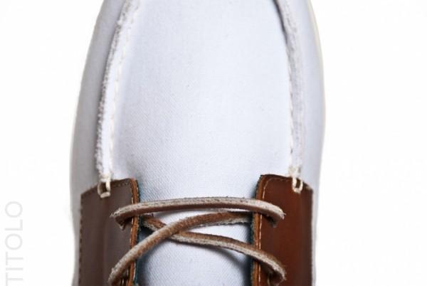 Vans CA Zapato Gore Lo Pro Canvas and Leather 'White'