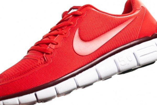 Nike Free 5.0 V4 'University Red'