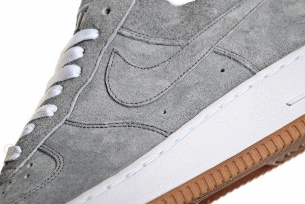 uk availability 5863f 02c2b Nike Air Force 1 Low Deconstruct PRM  Medium Grey