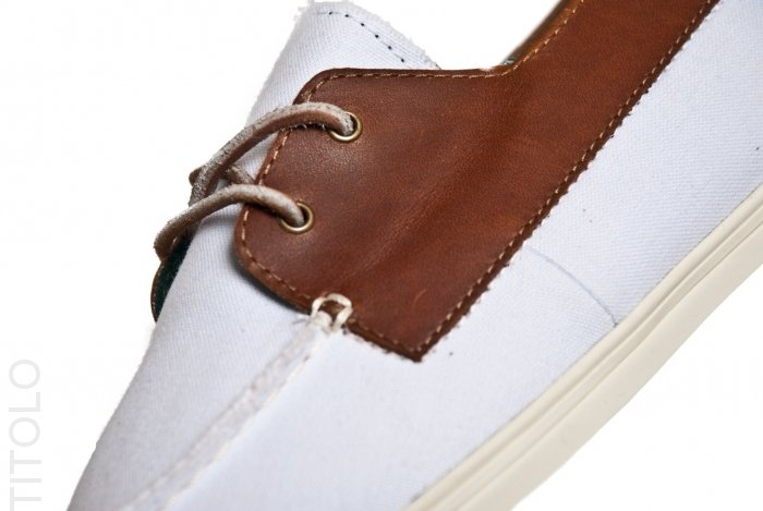 Vans CA Zapato Gore Lo Pro Canvas and Leather 'White'