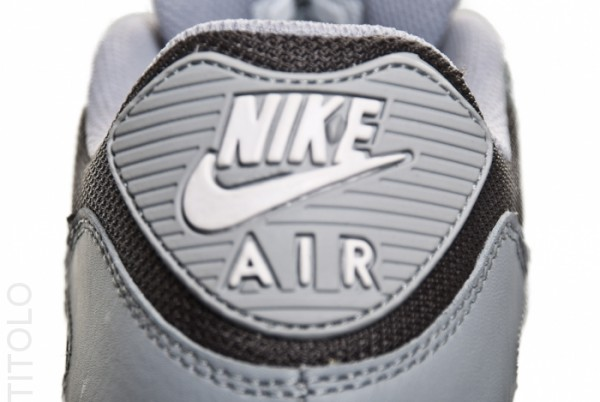 Nike Air Max 90 'Wolf Grey/Black-Midnight Fog'