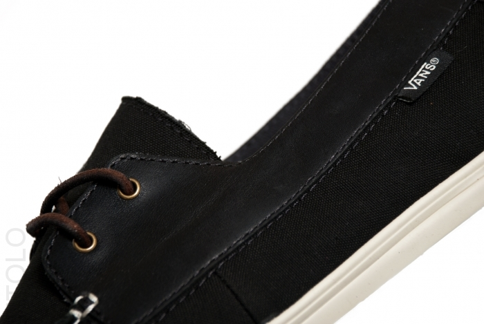 Vans CA Zapato Gore Lo Pro Canvas and Leather 'Black'