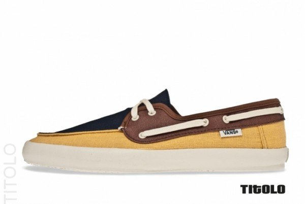 Vans Chauffeur 'Navy/Mineral Yellow'