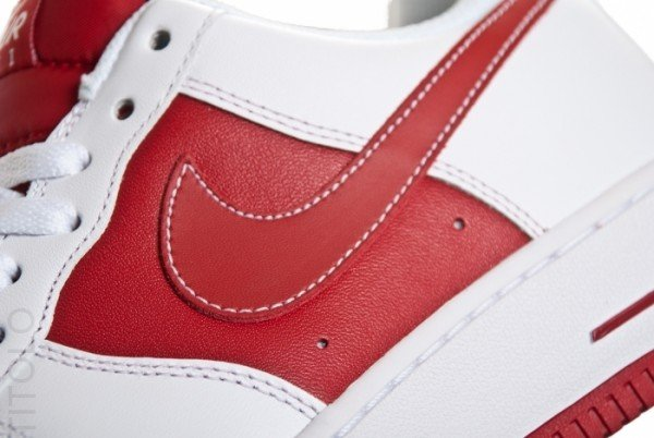 Nike Air Force 1 Low 'White/Varsity Red'