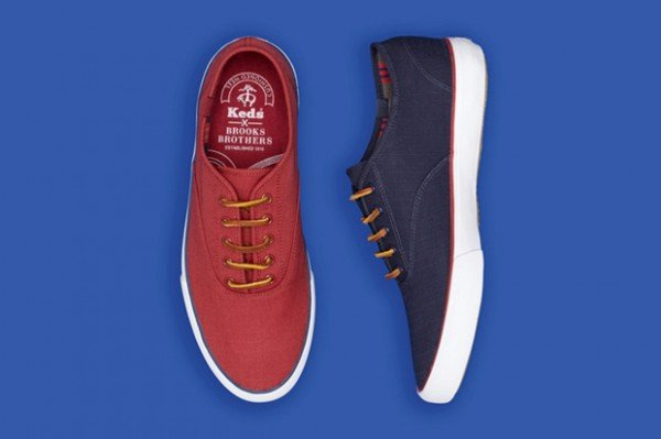 Keds for Brooks Brothers Ripstop Lace-Up Sneakers