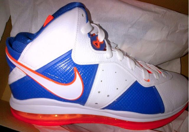 Nike LeBron 8 Cavs 'Hardwood Classics' Unreleased Sample