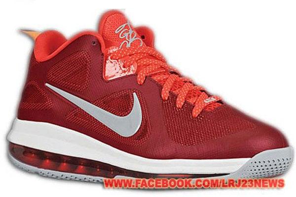 Nike LeBron 9 Low 'Red/Grey-White'
