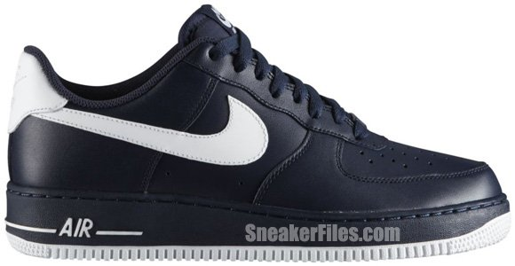 Release Reminder: Nike Air Force 1 Low 'Obsidian/Wolf Grey-White'