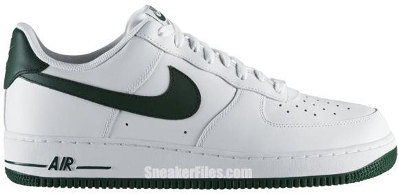 Release Reminder: Nike Air Force 1 Low 'White/Gorge Green'