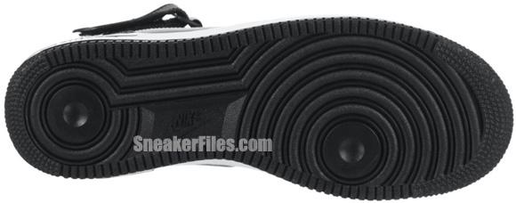 Nike Air Force 1 Mid 'Black/White-Black'