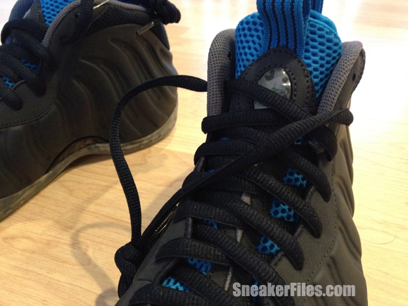 Nike Air Foamposite One 'Obsidian' Sample - Detailed Look