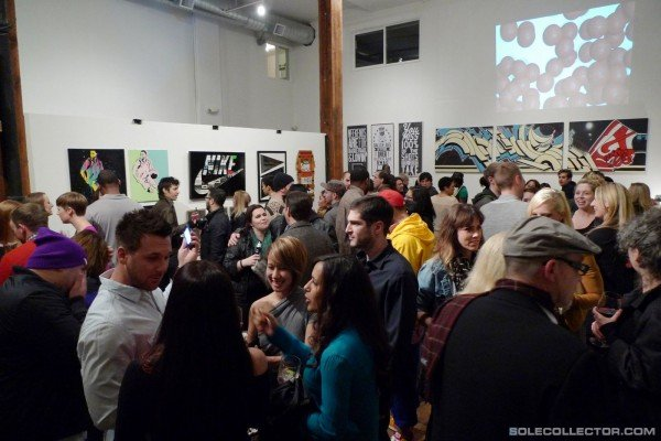 Nike Graphic Studio 'Old School vs. New School' Art Show Recap