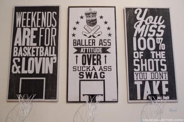 Nike Graphic Studio 'Old School vs. New School' Art Show Recap