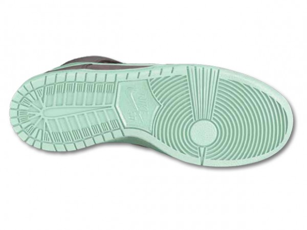 Nike SB Dunk High 'Earl Grey/Medium Mint' - Winter 2012