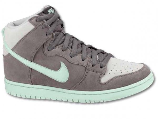 new style 75682 1faf2 Nike SB Dunk High 'Earl Grey/Medium Mint' - Winter 2012 ...