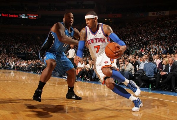 Melo Dons  All-Star  Kicks in Win Over Magic  ee98d82e6efc
