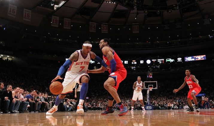 Carmelo Anthony Laces Up the 'Syracuse' Melo M8 for Selection Sunday