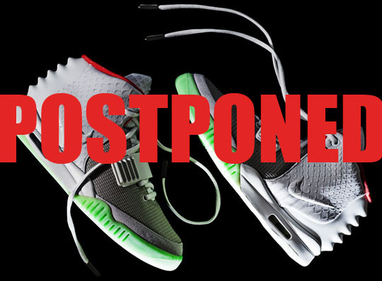 Nike Air Yeezy 2 Postponed Globally