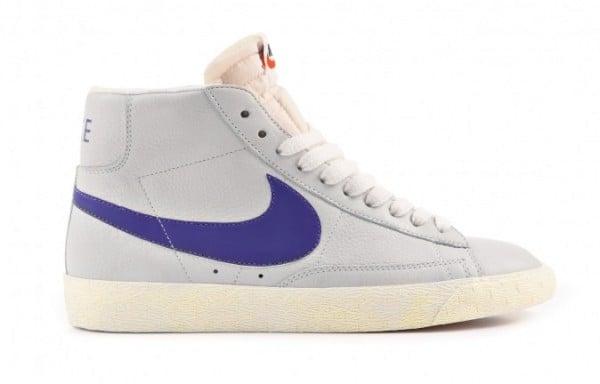 Release Reminder: Nike Blazer High Premium 'Sail/Purple' size? Exclusive