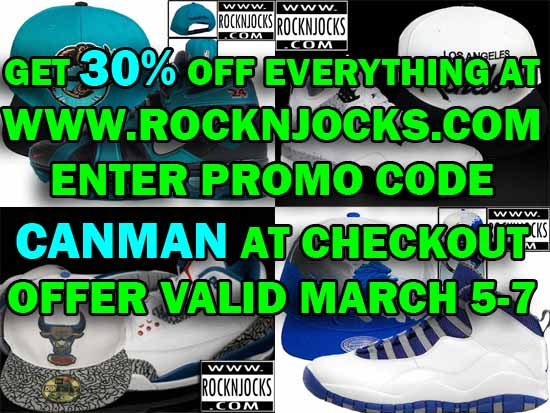 RocknJocks 30% Off Sale - #Canman
