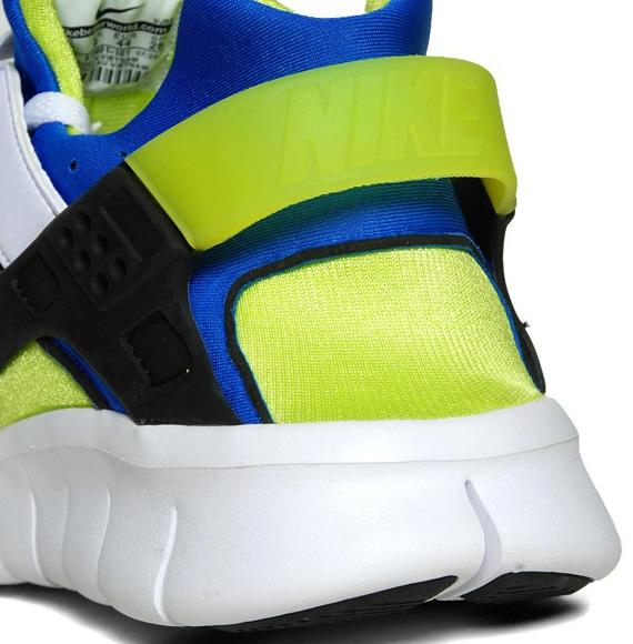 Nike Huarache Free 2012 'White/Soar-Cyber'
