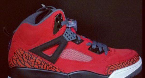 Jordan Spiz'ike 'Red/Black'