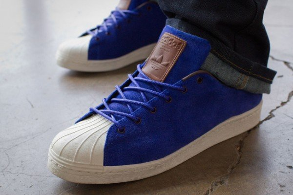 adidas Originals Superstar 80s Clean 'Deep Blue'
