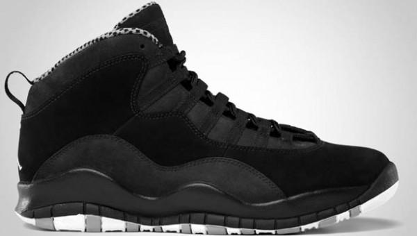 Air Jordan X (10) 'Stealth' - Official Images