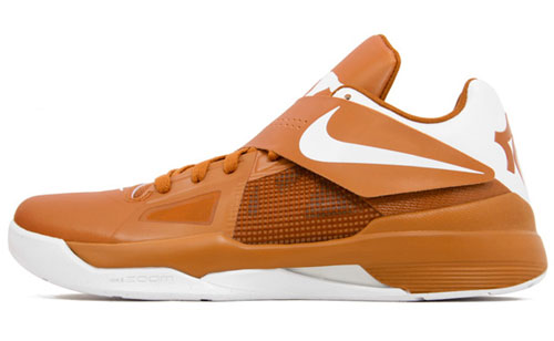 outlet store 4fb2d f2b5e Updated Release Reminder  Nike Zoom KD IV  Texas Longhorns