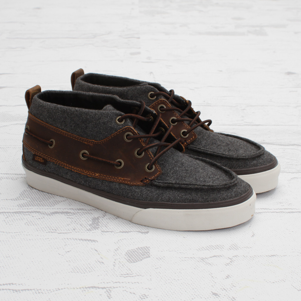 Vans CA Chukka Del Barco Wool - Now Available