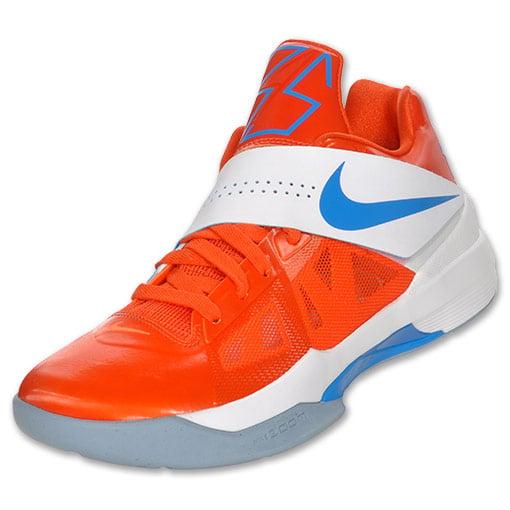 Nike Zoom KD IV 'Team Orange/Photo Blue-White' - Now Available at Finish Line