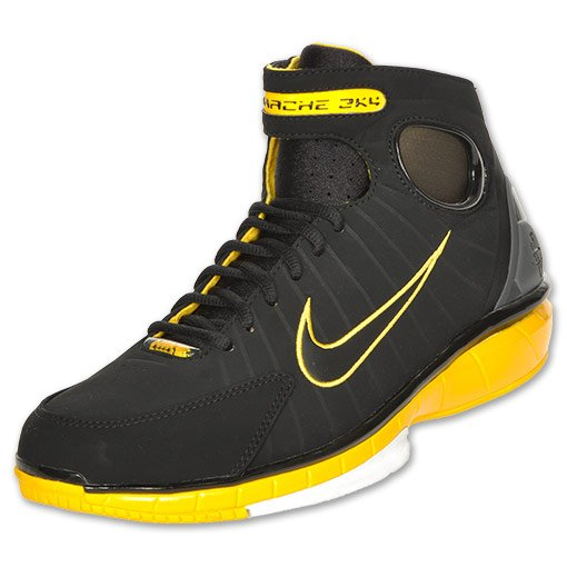 Nike Zoom Huarache 2K4 'Black/Varsity Maize' - Now Available