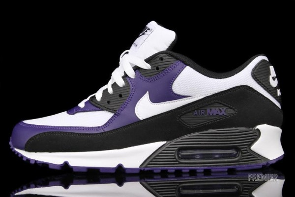 Nike Air Max 90 'Black/White-New Orchid' - Now Available at Premier