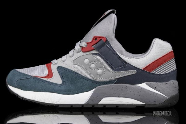 Saucony Grid 9000 'Grey'