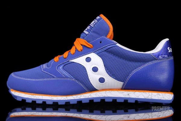 Saucony Jazz Low Pro 'Blue/Orange'