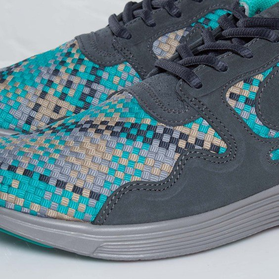 Nike Lunar Flow Woven QS 'Anthracite/Black-Bamboo'