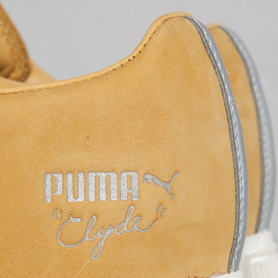 UNDFTD x PUMA Clyde Luxe 2 'Tawny Olive'
