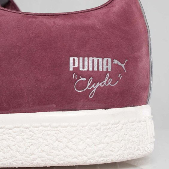 UNDFTD x PUMA Clyde Luxe 2 'Team Burgundy'