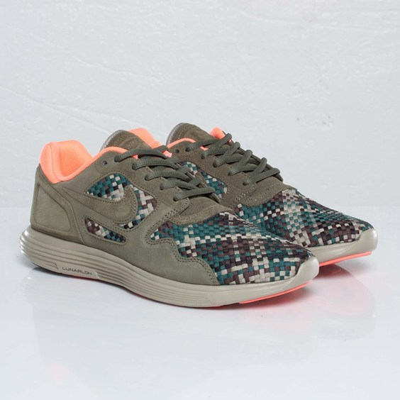 Nike Lunar Flow Woven QS  Olive Black-Bamboo   ed9be7a1d875