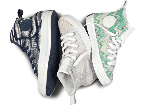 Release Reminder: Missoni for Converse Chuck Taylor All-Star Hi Spring 2012