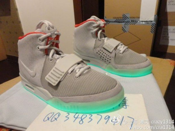 Nike Air Yeezy 2 'Wolf Grey/Pure Platinum' - New Image
