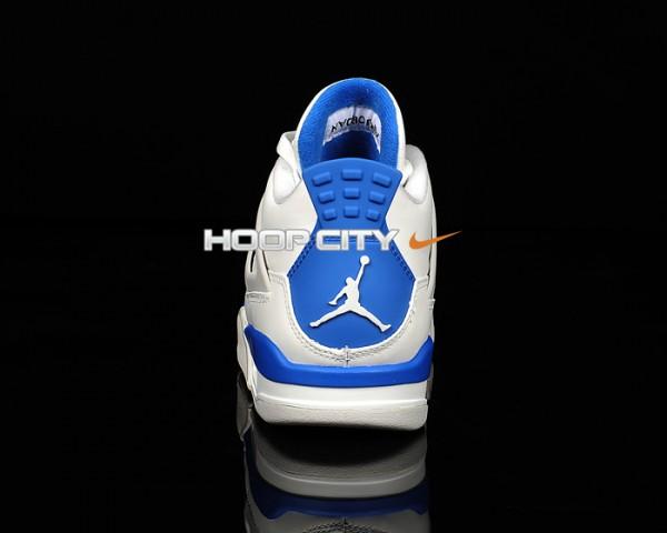 Air Jordan IV (4) 'Military Blue' - New Images