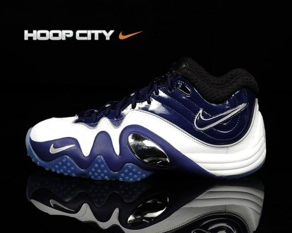 Nike Zoom Uptempo V Premium 'Royal Blue/Black-Metallic Silver'