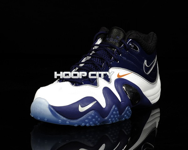 Nike Zoom Uptempo V Premium 'Royal Blue/Black-Metallic Silver'