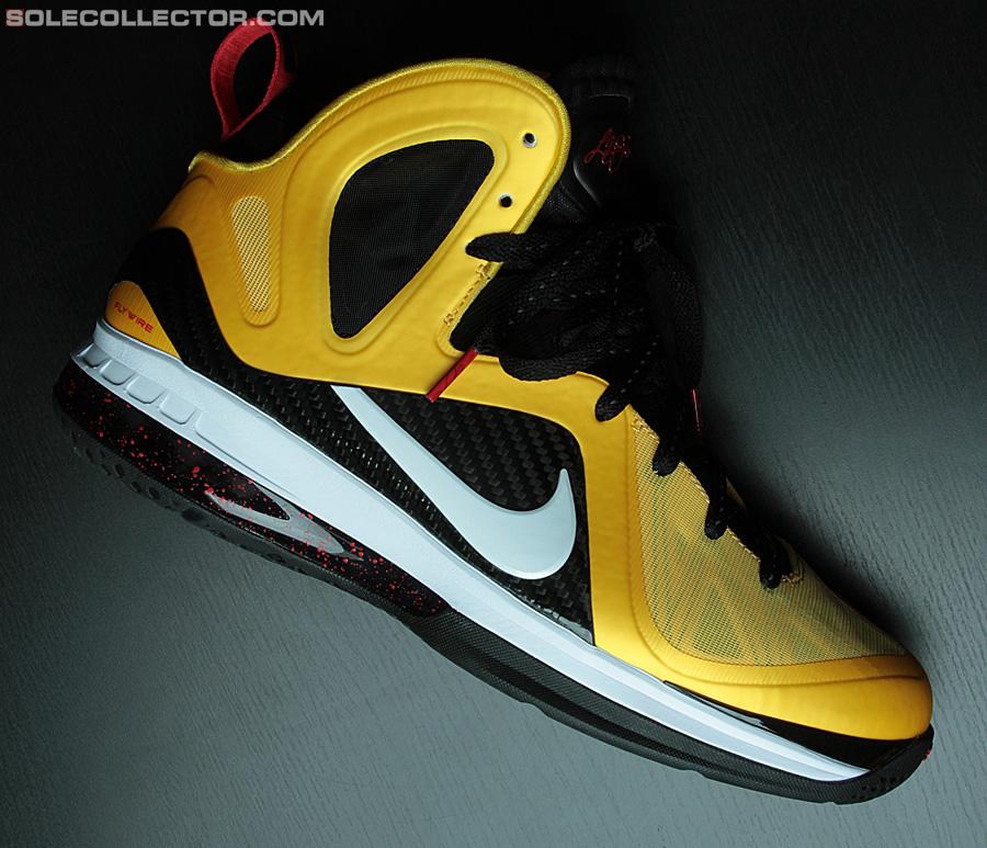 finest selection 846b6 461fc Nike LeBron 9 Elite Varsity Maize Detailed Look 30%OFF